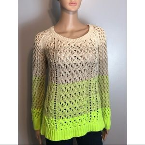 🆕 American Eagle Outfitters Ombré Sweater M